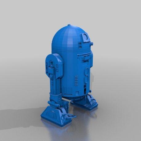 R2D2 modele 3d