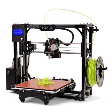 Test de l'imprimante LulzBot TAZ 5 3D