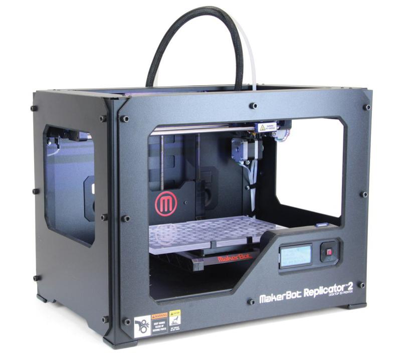 test de l 39 imprimante makerbot replicator 2. Black Bedroom Furniture Sets. Home Design Ideas