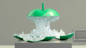 apple impression 3d