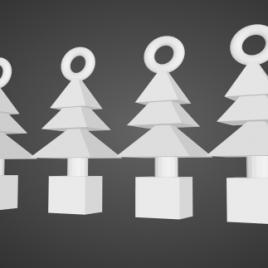 Décoration Sapins de Noël