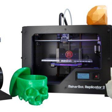 Test de l'imprimante Makerbot Replicator 2