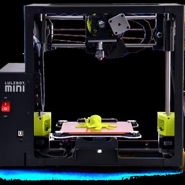 Test de l'imprimante Lulzbot Mini