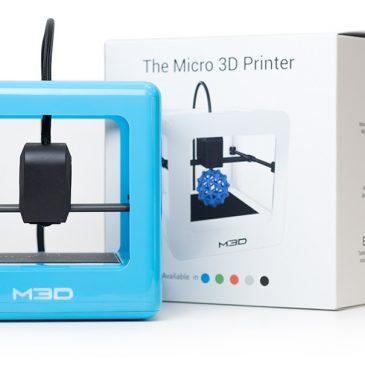 Test de l'imprimante M3D Micro