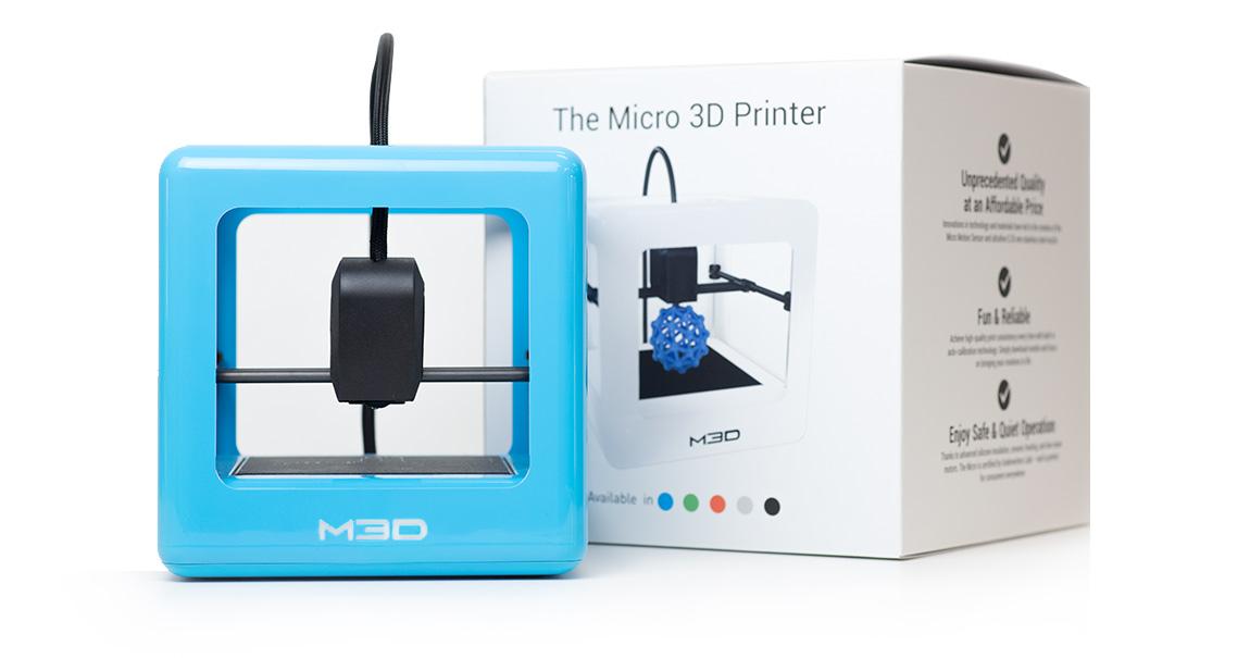 test de l 39 imprimante m3d micro. Black Bedroom Furniture Sets. Home Design Ideas