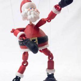 Marionnette Père Noël