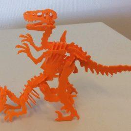 dinosaure en kit