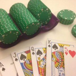 Rangement pour jetons de poker