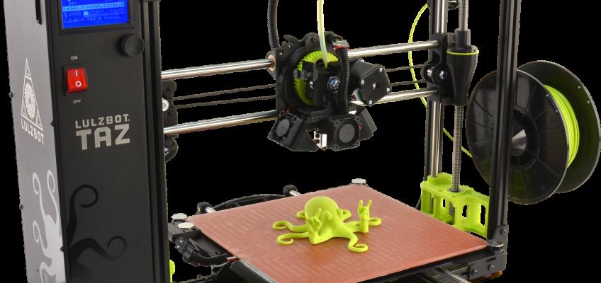 Test de l'imprimante Lulzbot Taz 6