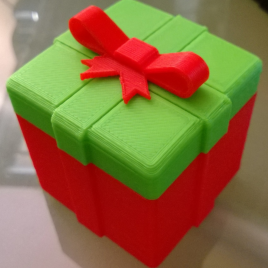 Boite Cadeau de Noël