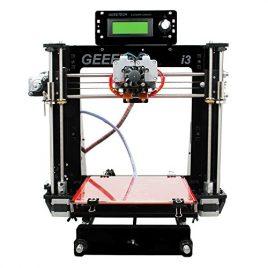 Geeetech Prusa Acrylique I3 Pro c structure à bricoler imprimante 3D en kit DIY,5 types de filament , Imprimante 3D de Bureau avec double extrudeur pour 2 couleurs .