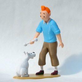 Figurine de Tintin et Milou