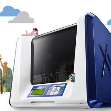 Test de l'imprimante XYZPrinting Da Vinci Junior 3 en 1