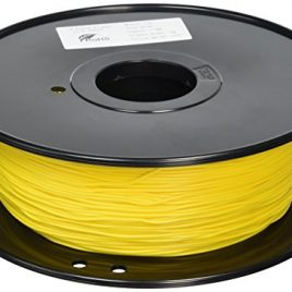 3D-Prima TPE Flexible Filament – 1.75mm – 1 kg spool – Yellow