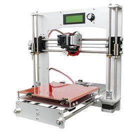 Imprimante 3d Geeetech, Imprimante 3d de bureau en kit à assembler soi-même, Prusa i3 avec les armature en métal en aluminium