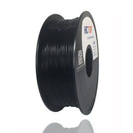 HICTOP Imprimante 3D 1.75mm ABS Filament – 1 kg bobine (2,2 lb) – Précision dimensionnelle +/- 0,05 mm (Noir)