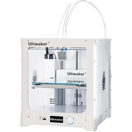 imprimante 3d ultimaker 3 imprimante 3d couleur professionnelle 2 t tes d 39 impression. Black Bedroom Furniture Sets. Home Design Ideas