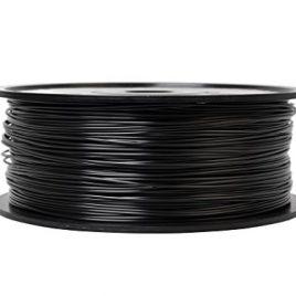 PLA Filament pour imprimantes 3D Thermique 1KG 1,75mm – Compatible avec Makerbot, Ultimaker, Reprap, Solidoodle, Wanhao, Flashforge et Bien Plus (Noir)