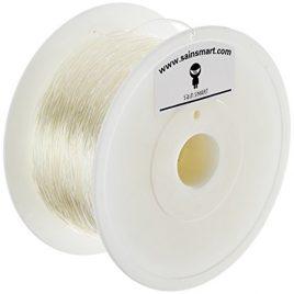 SainSmart TPU Flexible Imprimante 3D Filament, diamètre 1,75mm, diamètre Capacité 1kg, transparent