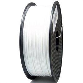Sienoc 3,00 mm 3D Printer imprimeur PLA Filament 1KG Bobine de fil plastique (Blanc)