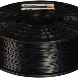 CoLiDo Impression 3D ABS 1.75mm Filament Spool, 1kg noir LCD001BQ7J
