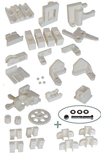 kit imprimante 3d reprap prusa i3 rework version box en abs. Black Bedroom Furniture Sets. Home Design Ideas