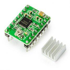 Moteur pas à pas Stepper Motor Pilote A4988pour Arduino Raspberry Pi Vert Imprimante 3D DIY