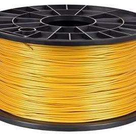 NuNus PLA Filament 1KG 1,75mm , 3D Printer imprimeur – Bobine de fil plastique (or)