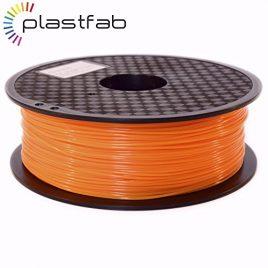 Plastfab – Filament 3D PLA + Orange 1KG 1.75 mm – PLA renforcé – Marque Française