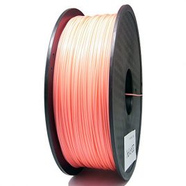 Sienoc 1,75 mm 3D Printer imprimeur PLA Filament 1KG Bobine de fil plastique (Rose)