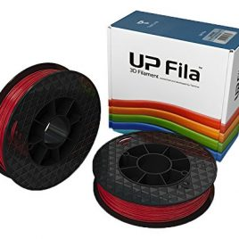 Tiertime Consommable 3D Filaments PLA UP Mini 2 – Rouge – 2x500g