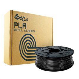 XYZprinting RFPLBXEU00H Recharge PLA Filament, 600 g, noir