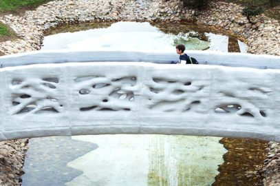 Première Mondiale à Madrid : Un pont entièrement imprimé en 3d !