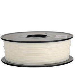 Filament 3D Flexible (élastomère thermoplastique) Blanc 1.75 mm pour imprimante 3D Livraison Gratuit Grossiste3D®