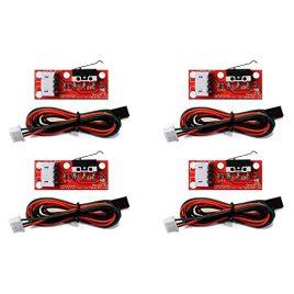 Redrex 4Pcs Butée Mécanique Interrupteur Commande d'éclairage RepRap Imprimante 3D Makerbot Prusa Mendel CNC Arduino Mega 2560