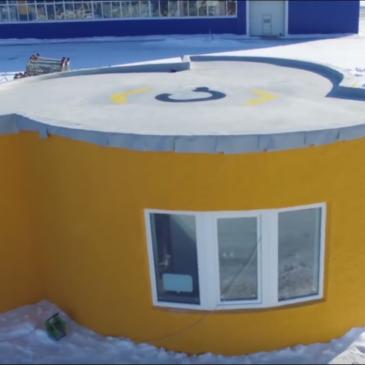 Une maison imprimée en 3d en 1 journée !