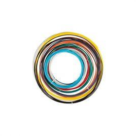 Jeu avec filament pla – 1.75mm1/16 – 10couleurs – pour imprimante 3d et stylo 3d velleman pla175set