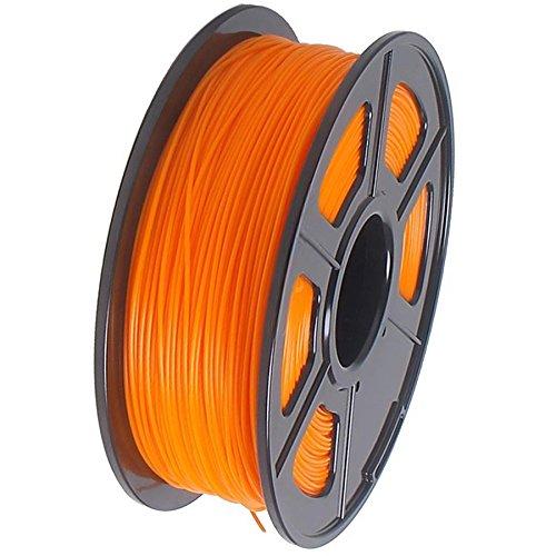 Sodial r imprimante 3d filament 1kg plastique abs 1 75mm pour reprap mendel orange - Filament imprimante 3d ...