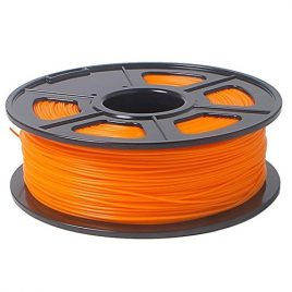 SODIAL(R)Imprimante 3D Filament 1kg / 2.2lb plastique ABS 1,75mm pour RepRap Mendel Orange