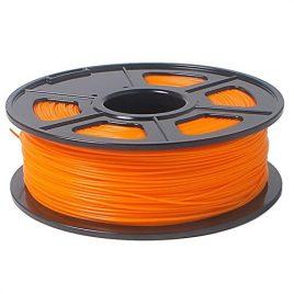 SODIAL(R)Imprimante 3D Filament 1kg / 2.2lb plastique ABS 1,75mm pour RepRap Mendel Orange