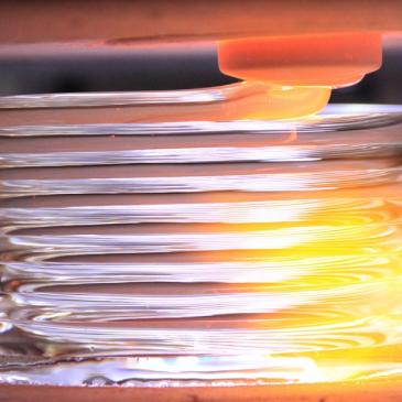 Imprimez des objets 3d en verre !