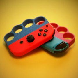 Adaptateur Poing Américain Joycon Nintendo Switch