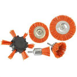 5pc Brosse nylon filaments Abrasifs / broche de perçage / 6mm