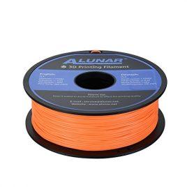 ALUNAR 3D Imprimante Filament PLA Ajustement pour ALUNAR, Reprap Prusa, UP, Afinia, Flash Forge, MakerGear et toutes les imprimantes 3D Desktop FDM, 1kg Spool, 1.75mm