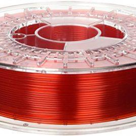 Colorfabb 8719033552593 PLA Filament pour Imprimante 3D, 1,75 mm, Rouge Transparent