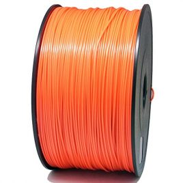 Sienoc 1,75 mm 3D Printer imprimeur ABS Filament 1KG Bobine de fil plastique (Rouge)