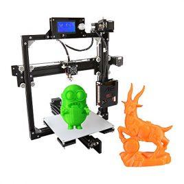 Anet Reprap i3 DIY 3D Imprimante Kits 110-220V avec 8 GB SD Carte, Encadrement en Aluminium | LCD12864 Ecran | 220*220*220mm Zone | ABS/PLA/HIP/PP/Wood Filament