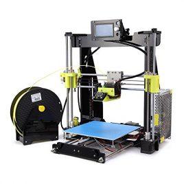 Desktop 3D Imprimante Printer Kit | Reprap i3 DIY Self Assembly 12864 Écran LCD Taille d'impression en acrylique 210 * 210 * 225mm
