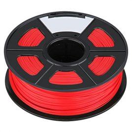 Filament – SODIAL(R)Nouvelle imprimante 3D Printing Filament ABS -1.75mm, 1kg, pour impression RepRap Couleur: rouge
