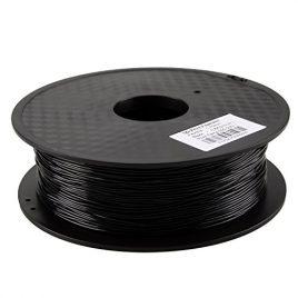 HICTOP 0.8KG 1.75mm Filé TPU noir (caoutchouc) pour imprimante 3D